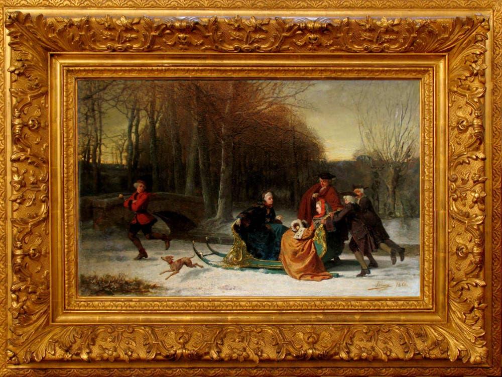 Geschichte und Arten von Baguette für Gemälde